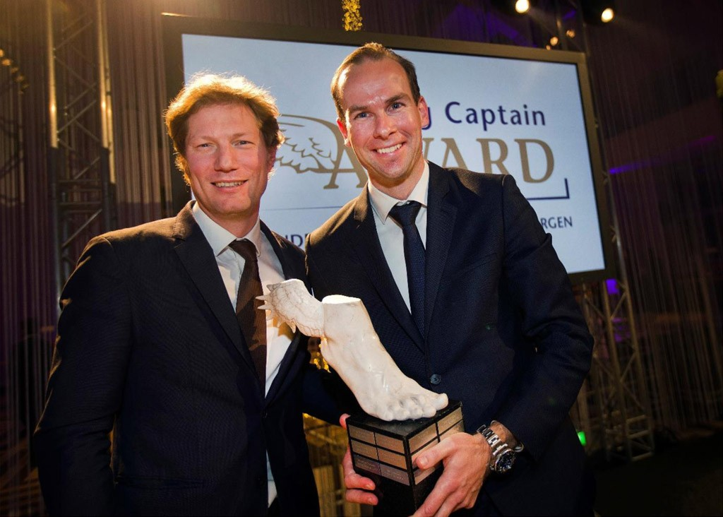 Winnaar Young Captain Award 2018
